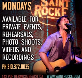 Mondays available for recordings, events, and rehearsals. Inquire within!