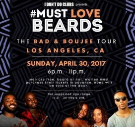 I Don't Do Clubs Presents: Must Love Beards