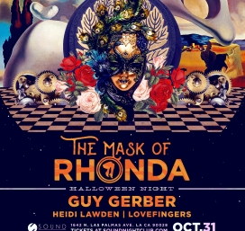 The Mask of Rhonda and Sound present Guy Gerber: Halloween