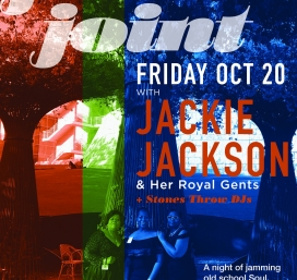 Feminist Friday ft. Juke Joint w/ Jackie Jackson + Stones Throw DJs