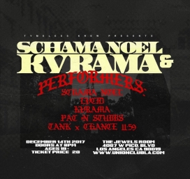Tymeless Krew Presents Schama Noel & KVRAMA