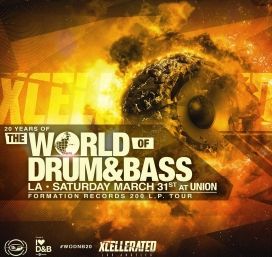 Xcellerated Presents: The World Of Drum & Bass 2k18